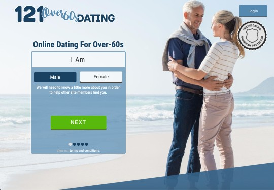 121 Over 60s Dating